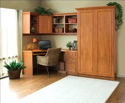 Murphy Bed Office Desk Combo Murphy Bed Office Wanderfit Co