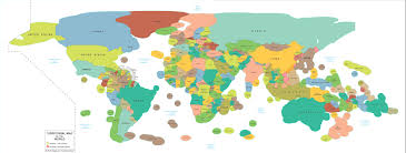 Map Of The World Countries Fascinating World Map Includes Countries U0027 Ocean Territory In Their