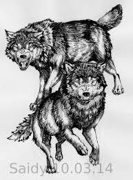 wolf design by saidywolf on deviantart