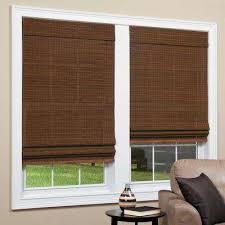 Levelor Blinds Lowes Bamboo Shades U0026 Natural Shades Shades The Home Depot