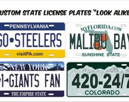 Illinois Vanity License Plates Custom Novelty Front License Plate Philadelphia Sports Teams