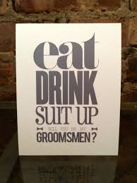 groomsmen invitations groomsmen invite ideas