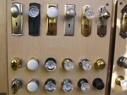 Vintage Glass Door Knobs by Vintage Reproduction Interior U0026 Exterior Door Hardware Yelp