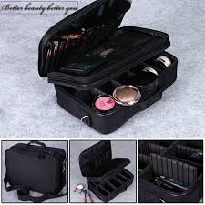 professional makeup carrier pro makeup compartment bag travel bag makeup organizer