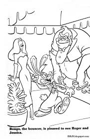 roger rabbit coloring free download