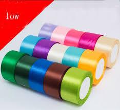 2 inch ribbon satin ribbon 50mm 2 inch 25 yards wedding silk ribbon silk ribbon