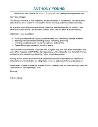 make a cover letter best office assistant cover letter exles livecareer