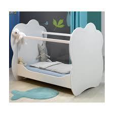 le pour chambre bébé lit bébé plexi blanc 60x120 louiblcm01