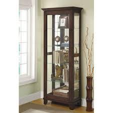 Corner Glass Display Cabinet Ebay Furniture Curio Cabinets Ebay Pulaski Furniture Curio Cabinet