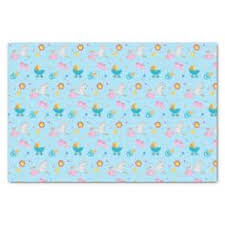 octopus wrapping paper blue octopus aqua sea custom wrapping paper