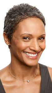 black women short grey hair very short curly hairstyles for black women over 50 with grey hair