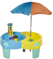 step 2 sand and water table enticing step ly playful sand water activity center lid ly playful