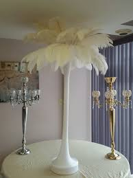 white ostrich feather centerpieces the feather guy wholesale ostrich feathers cheap toronto