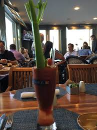 Schooners Coastal Kitchen Bar Monterey Ca - bloody mary super think and heavy yelp
