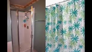 Shower Stall Curtains Bathroom Shower Stall Curtains Gold Shower Curtain Wayfair