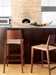seido counter stool warm wood natural materials constructed of