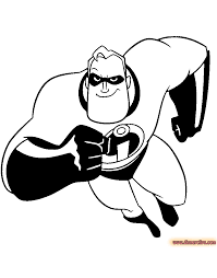 the incredibles coloring pages disney coloring book