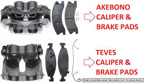 2000 jeep grand brakes what of calipers does my jeep akebono or ate teves