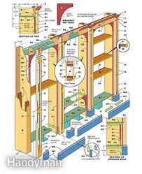 Wood Bookcase Plans Free by How To Build A Built In Bookcase Family Handyman