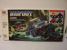 bigfoot monster truck game rare vintage bigfoot 4x4x4 board game milton bradley monster truck