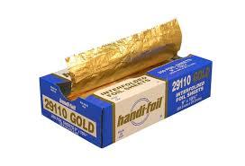 gold foil wrap handi foil gold foil sheets 200ct 12