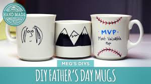 handmade mugs diy father u0027s day coffee cup hgtv handmade youtube