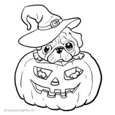 Coloring Pages Of Pugs Dogs Kids Drawing And Coloring Pages Coloring Page Dogs