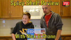 As Seen On Tv Spice Rack Organizer Spicy Shelf Review With Nick And Shane Does Spicy Shelf Really