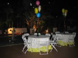 formal decorations at ease