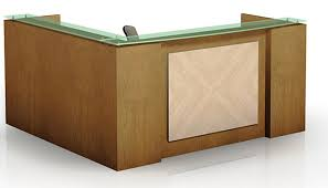 Glass Reception Desk Modern Minimalist Reception Desk For Small Space Finding Desk