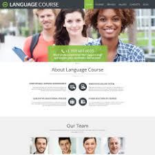 language templates templatemonster