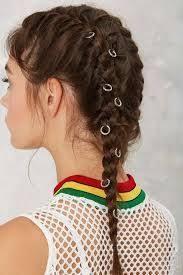 hair ring 34 best braids plaits bling rings images on hair