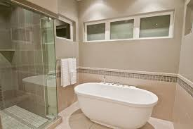 Bathroom With Bath And Shower Synergy Master Bath Shower Tub Modern Bathroom Portland