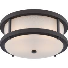 Flush Lighting Fixtures Nuvo 62 653 2 Led Textured Black Outdoor Flush Fixture Willis
