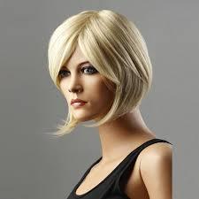 women s bob hairstyle amazon com new fashion simple layered short straight blonde hair