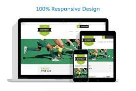 field hockey website template