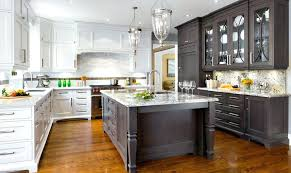 two color kitchen cabinets kitchens with stylish two tone cabinets regarding different