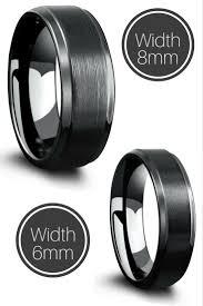 Make Wedding Ring by 20 Best Black Wedding Rings Images On Pinterest Black Weddings