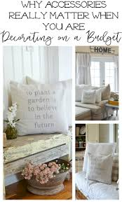 Decorating Homes On A Budget by Decorating On A Budget Why Accessories Really Matter