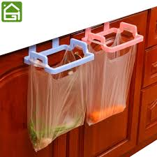 Kitchen Cabinet Door Storage by Kitchen Garbage Hanging Bag Plastic Cabinet Door Organizer