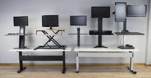 best height adjustable desk 2017 top 5 standing desk converters for tall people