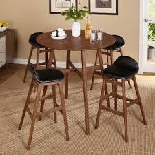 Kitchen Bar Table Sets by Mid Century Modern Pub Tables U0026 Bistro Sets You U0027ll Love Wayfair