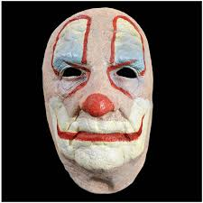 old halloween masks halloween old clown face mask mad about horror