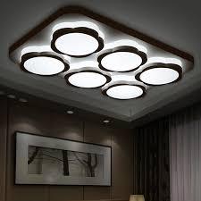 modern led ceiling lights for living room acrylic bedroom foyer