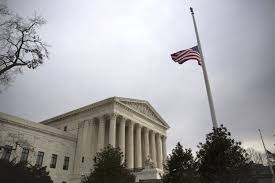 White House Flag Half Mast Mitch Mcconnell Flatly Rejects Any Obama Pick To Supreme Court