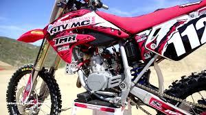 motocross action magazine motocross action tests a honda cr112 super mini 2 stroke youtube