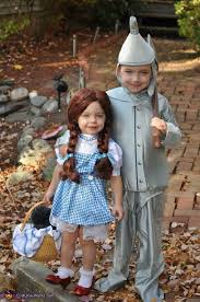 Toddler Dorothy Halloween Costume Wizard Oz Family Homemade Halloween Costumes Photo 4 5