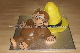 curious george cakes coolest curious george birthday cake ideas