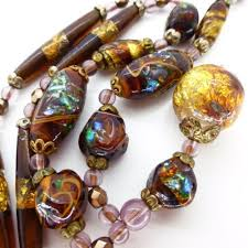 bead necklace ebay images The 232 best vintage venetian glass beads images jpg