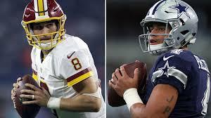 cowboys vs redskins thanksgiving dak prescott is redskins u0027 best reason to lock up kirk cousins
